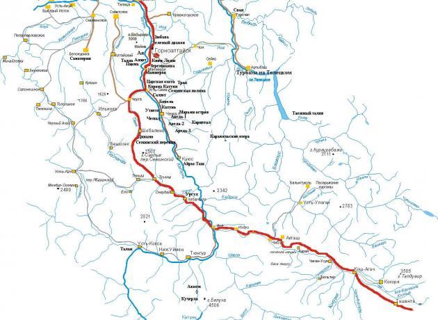 Чуйский Тракт проходит через Горный Алтай (фото: vtourisme.com)