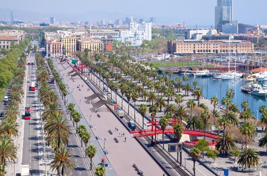 Барселона: Барселона Летом, Осенью, Зимой, Весной