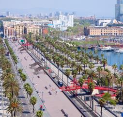 Осенью в Барселоне тепло, но погода может подкидывать ещё те ''выкрутасы''