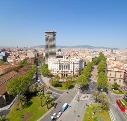 С наступлением первого весеннего месяца в Барселоне отмечается рост температур