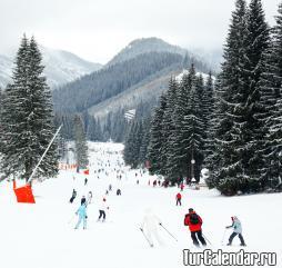 Горнолыжный сезон в Белоруссии приходится на период с декабря по март