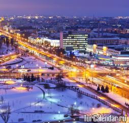 В декабре в Белоруссии уже выпадает снег, который уверенно держится до начала весеннего сезона