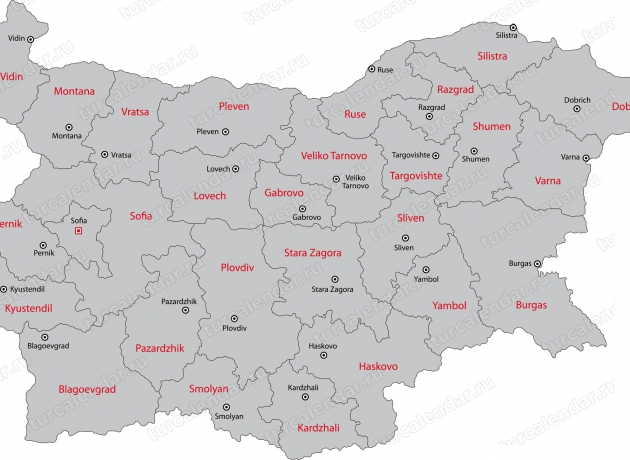 Районы Болгарии