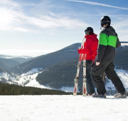 Зимой в Чехии можно отдохнуть на горнолыжных курортах