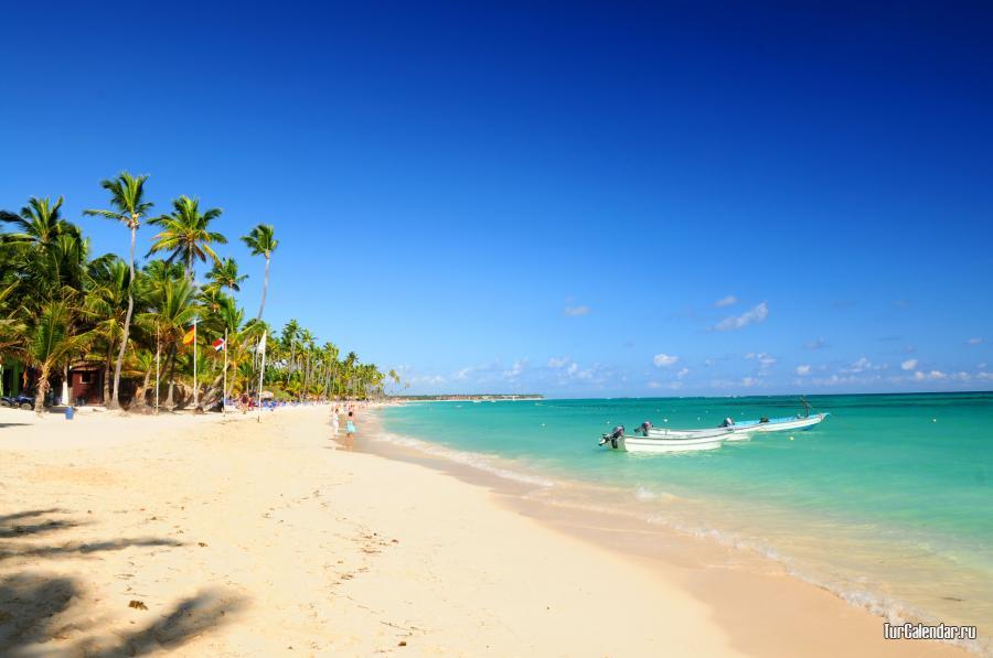 Dominikana Vesnoj Letom Osenyu Zimoj Pogoda V Dominikane Po