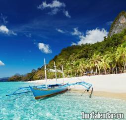 Самый комфортный пляжный отдых на Филиппинах - зимний, когда дневные экстремумы становятся несколько ниже в сравнении с другими сезонами