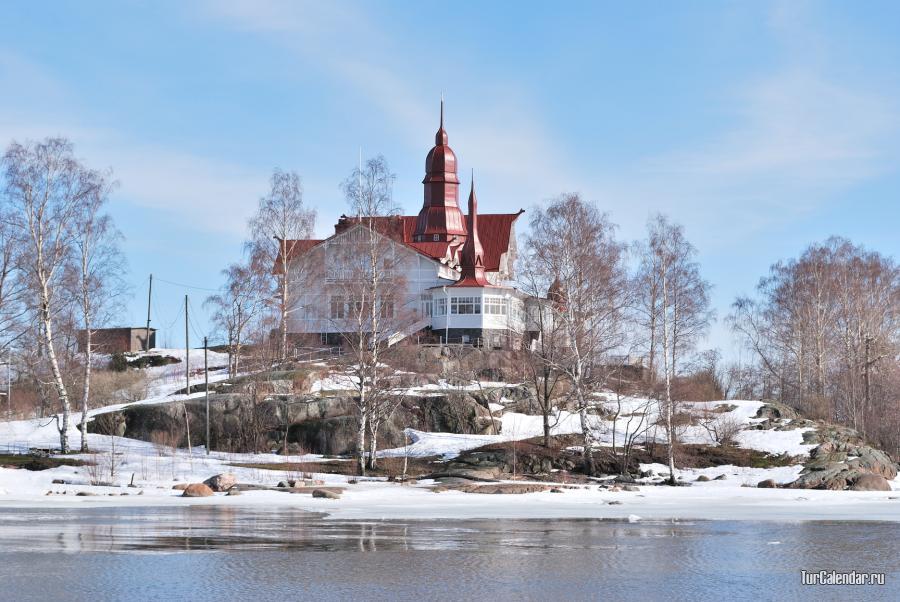 В марте в финляндии стоят