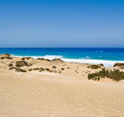 В бархатный сезон вы можете позволить себе уединенные пляжи, например как этот на острове Фуэртевентура