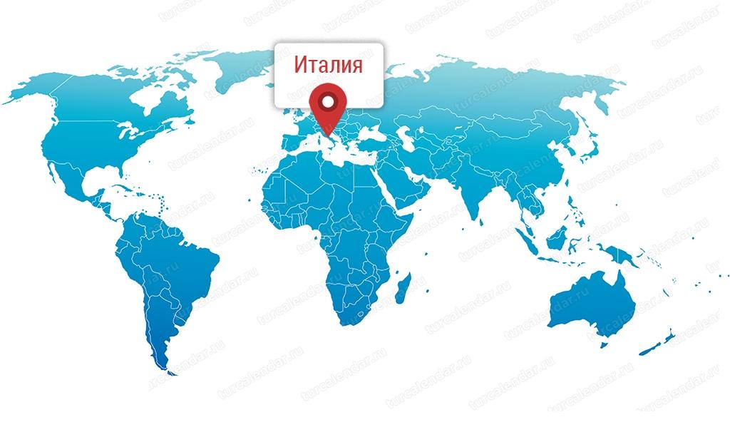 Gde Nahoditsya Italiya Na Karte Mira I Na Karte Evropy Podrobnaya