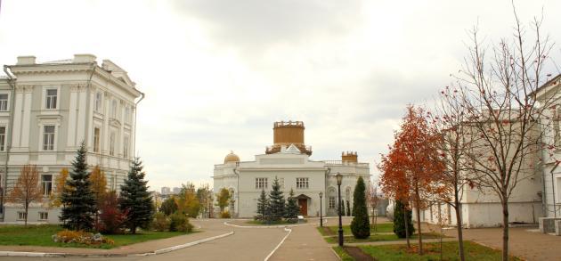 Казань в ноябре - время, когда стоит влажная прохладная погода, однако случаются и хорошие дни