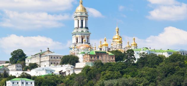 Киеве все еще много туристов а погода