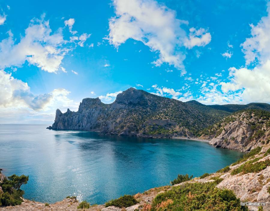 Фото черного моря в крыму