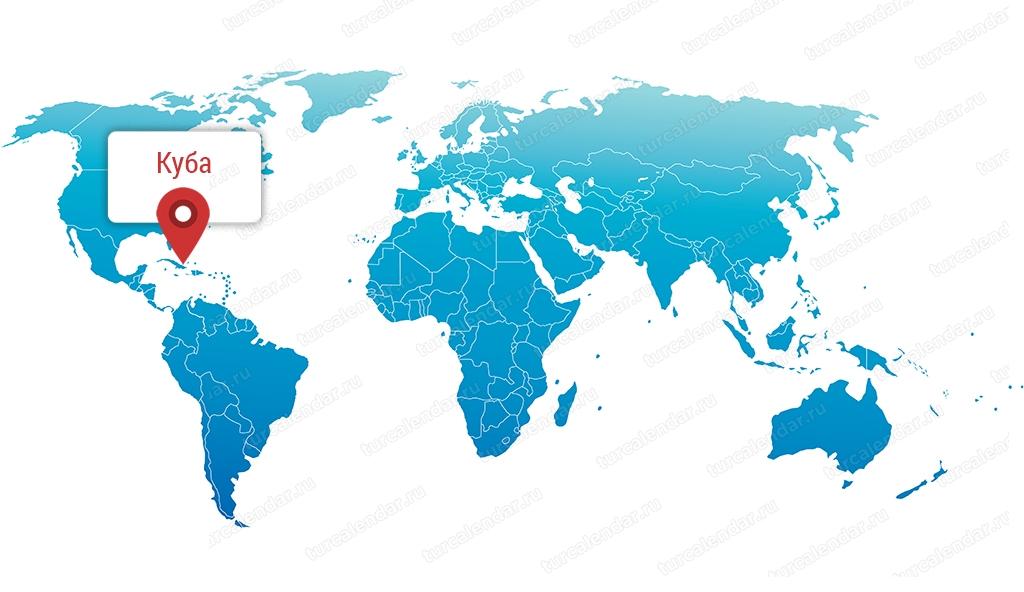 Gde Nahoditsya Kuba Na Karte Mira Podrobnaya Karta Kuby Na Russkom