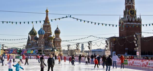 В феврале в москве погода