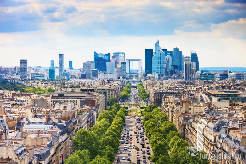 SINOPTIK: Погода в Париже Прогноз погоды Париж на
