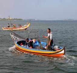 Самый богатый рыбный улов можно поймать в период с июля по октябрь