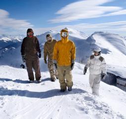 Январь - февраль - пик горнолыжного сезона на российских зимних курортах